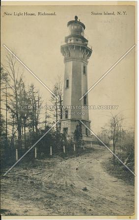 Staten Island Lighthouse, Lighthouse Hill