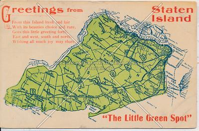 Staten Island map 1910