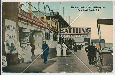 Boardwalk, Happy Land Park, South Beach