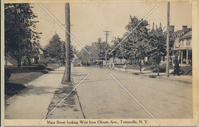 Main Street from Arents Ave (Craig Ave), Tottenville
