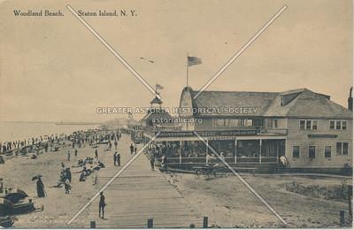 Woodland Beach boardwalk
