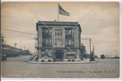 Staten Islander Building, Tompkinsville