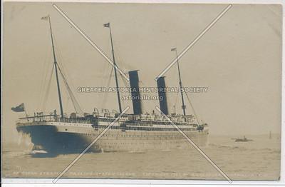 Ocean steamer, 1903, Staten Island