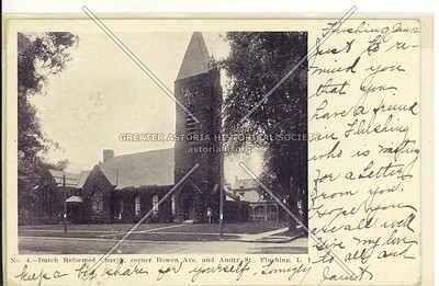 Dutch Reformed Church, Bowne St., at Roosevelt Ave, Flushing