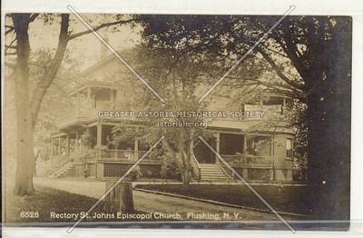 Rectory, St. John's Episcopal Church, Sanford Ave., Flushing