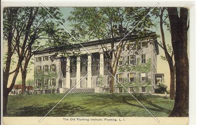 Flushing Institute, Main St at Roosevelt Ave