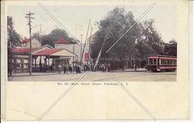 Main Street railroad station