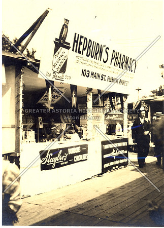 Hepburn's Pharmacy, Main St., Flushing