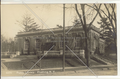 Flushing Library, Main St. at Kissena Blvd., Flushing