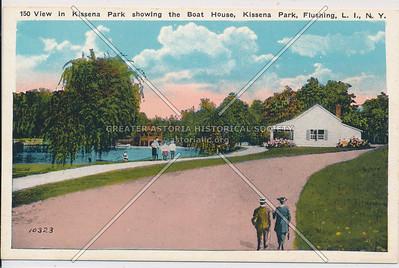 Boathouse, Kissena Park,  Flushing