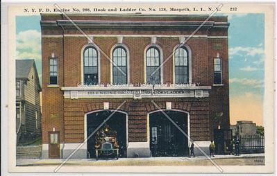 N.Y.F.D. Engine No. 288, Hook and Ladder Co. No. 138, Maspeth, L.I., N.Y.