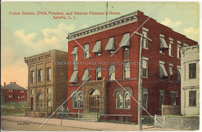 Police Station, 274th Precinct, and Veteran Firemen's Home, Astoria, L.I.