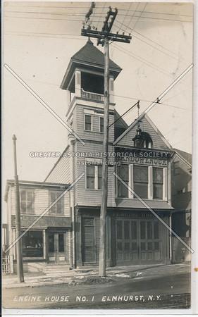 Wandowenock Engine Co., No. 1, N.F.D., Broadway and Court Street (Justice Ave), Elmhurst, L.I.