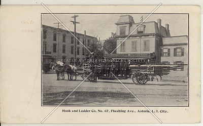 Hook and Ladder Co. No. 67, Flushing Ave (Astoria Blvd)., Astoria, L.I. City