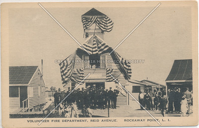 Volunteer Fire Department, Reid Avenue, Rockaway Point, L.I.