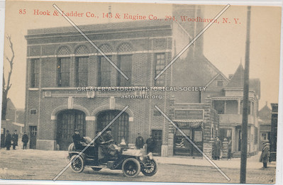 Hook & Ladder Co., 143 & Engine Co., 294, Woodhaven, N.Y.