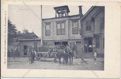 No. 5- Hook and Ladder Co., No. 3, Woodside, L.I.