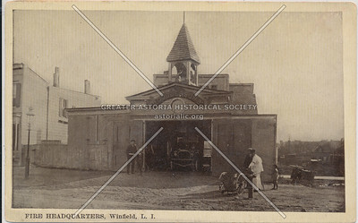 Fire Headquarters, Winfield, L.I.