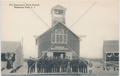 Fire Department, Reid Avenue, Rockaway Point, L.I.