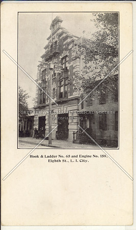Hook & Ladder No. 65 and Engine No. 158, Eighth St (47 Ave)., L.I. City