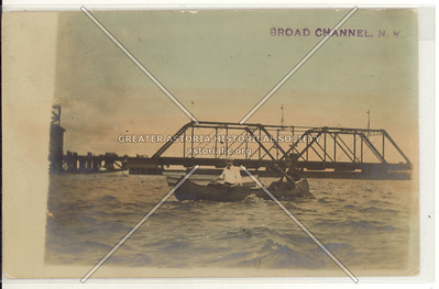 Railroad bridge, Broad Channel, Queens