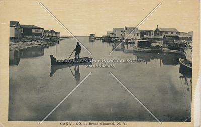 Canal No. 1. Broad Channel, Queens