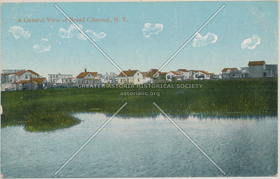 A General View of Broad Channel, Queens