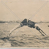 Charles Brauneck taking a dive, Summer of 1912. Broad Channel, Queens