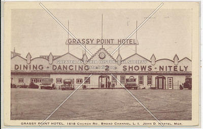 Grassy Point Hotel, 1618 Church Rd., Broad Channel, Queens