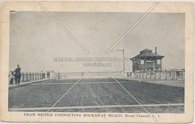 Draw Bridge Connecting Rockaway Beach, Broad Channel, Queens