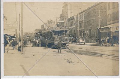 Streetcar on Jamaica Ave