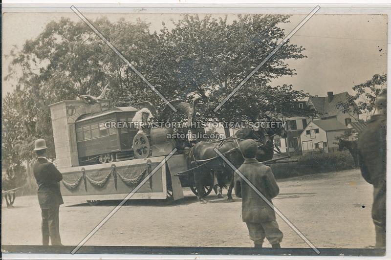 Subway opening parade, Jamaica
