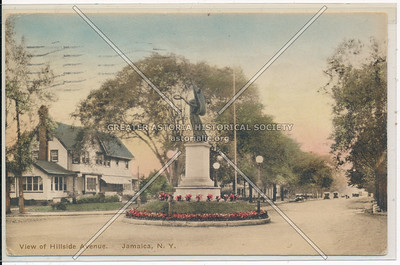 Soldier's Monument, Hillside Ave and Merrick Blvd., Jamaica
