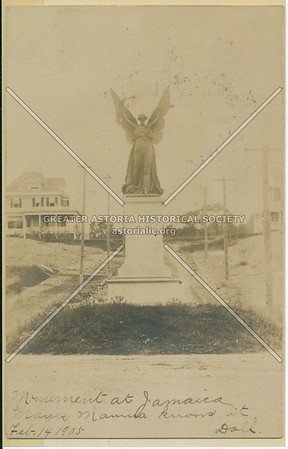 Soldiers' Monument, Hillside Ave., Jamaica