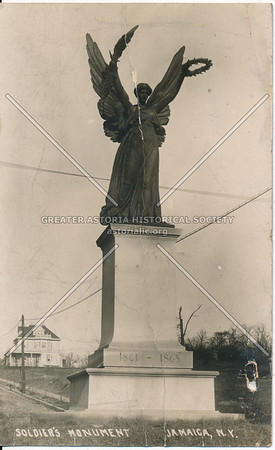 Soldiers Monument, Jamaica Ave and Merrick Blvd
