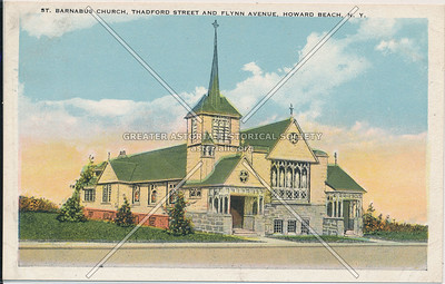 St. Barnabas Church, Thadford St and Flynn Ave (98 St at 160 Ave) Howard Beach