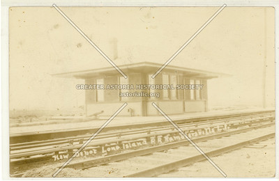 Depot Long Island R.R. Ramblersville, L.I.