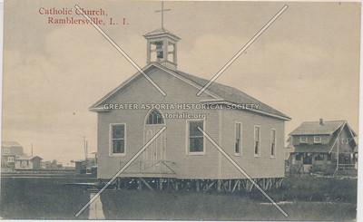 Catholic church, Ramblersville