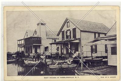 Boat Houses, Ramblersville, L.I.