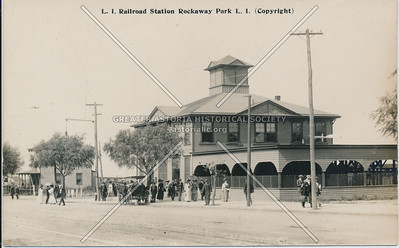 Long Island RR station, 5 Ave (Bch 116 St),  Rockaway Park