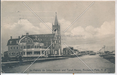 St. Francis de Sales Church,  Rockaway Park