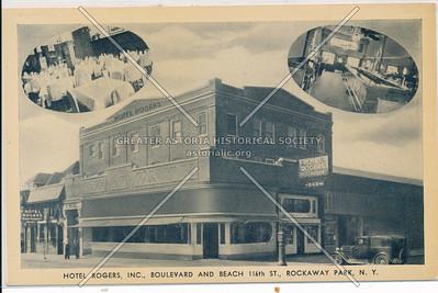 Hotel Rogers, B 116 St., Rockaway Park
