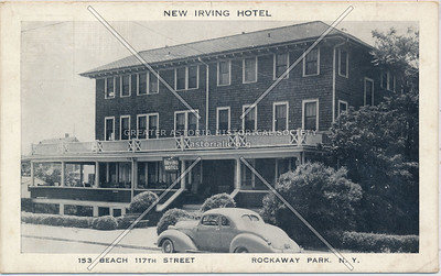 Irving Hotel, Bch 117 St., Rockaway Park