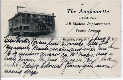 """""""The Annjeanette,""""  Rockaway Park"""