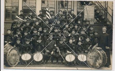 Band photo, St. Malachy's Orphanage, Rockaway Park
