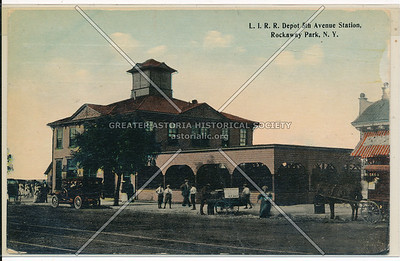 Long Island Rail Road depot, 5 Ave (Bch 116 St), Rockaway Park