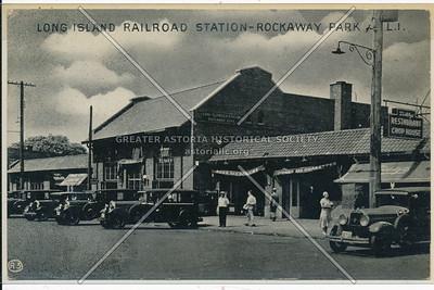 Long Island RR station, Beach 116 St, Rockaway Park
