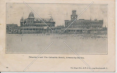 Shanley's and Columbia Hotels,  Arverne