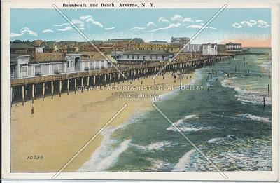 Boardwalk and beach, Arverne