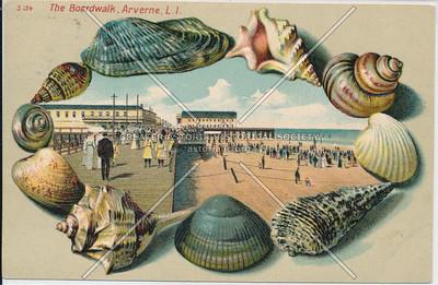 The Boardwalk, Arverne, L.I.